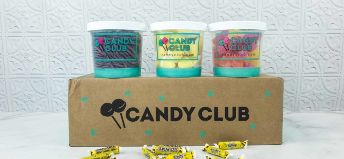 Candy Club Subscription Box Review + 50% off Coupon – August 2018