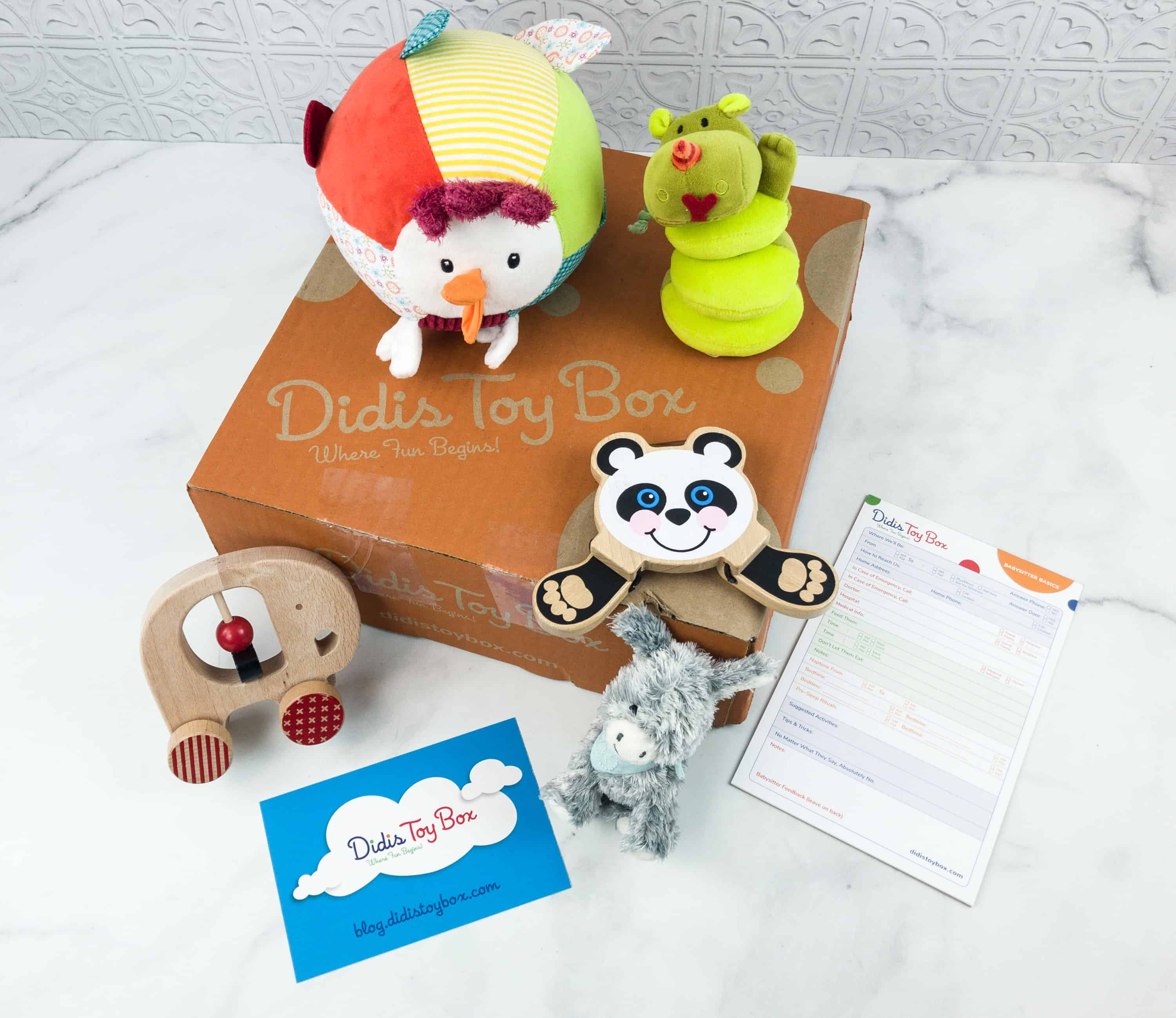 Didis Toy Box September 2018 Subscription Box Review & Coupon