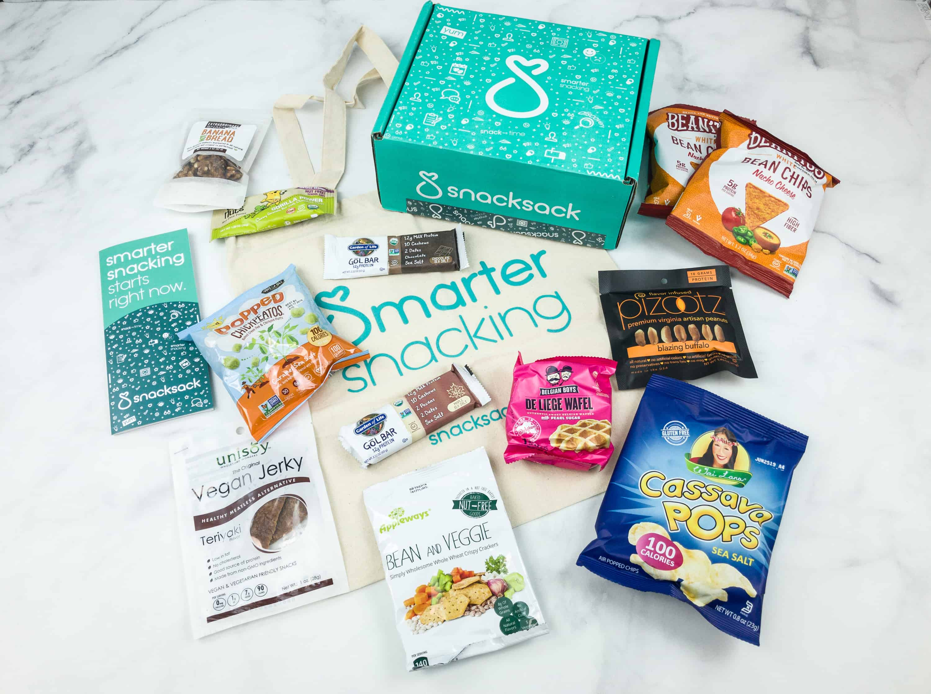 SnackSack August 2018 Subscription Box Review & Coupon – Classic