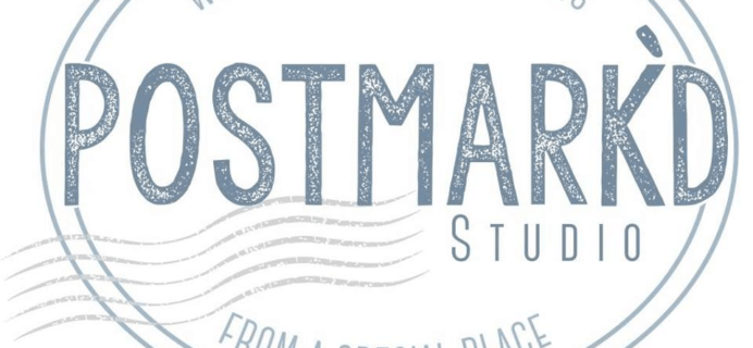Postmark'd Studio PostBox September 2018 Spoilers + Coupon!