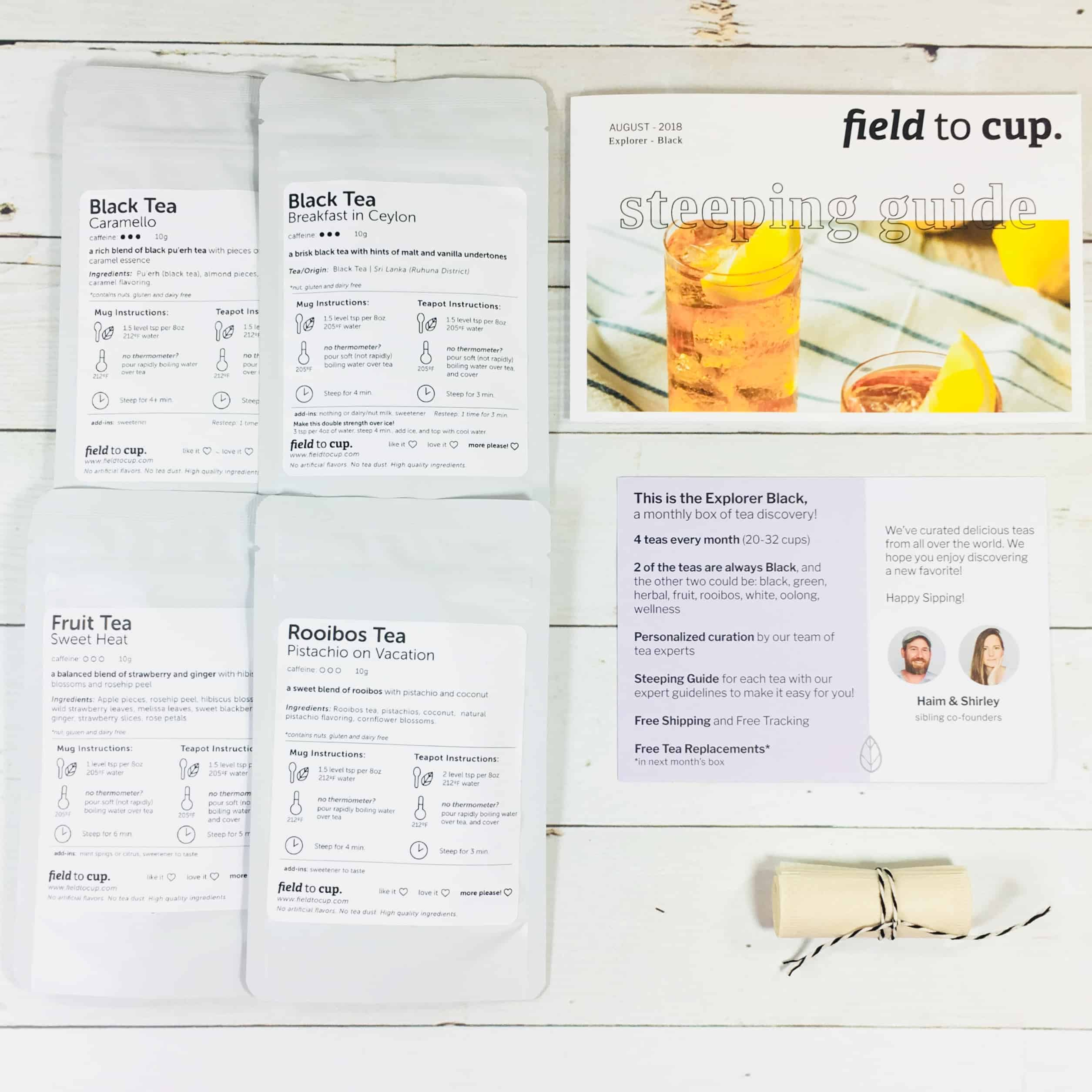 Field To Cup August 2018 Subscription Box Review + Coupon – Explorer Box