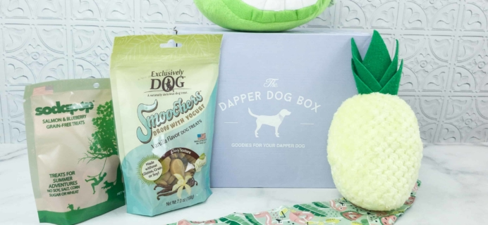 The Dapper Dog Box August 2018 Subscription Box Review + Coupon