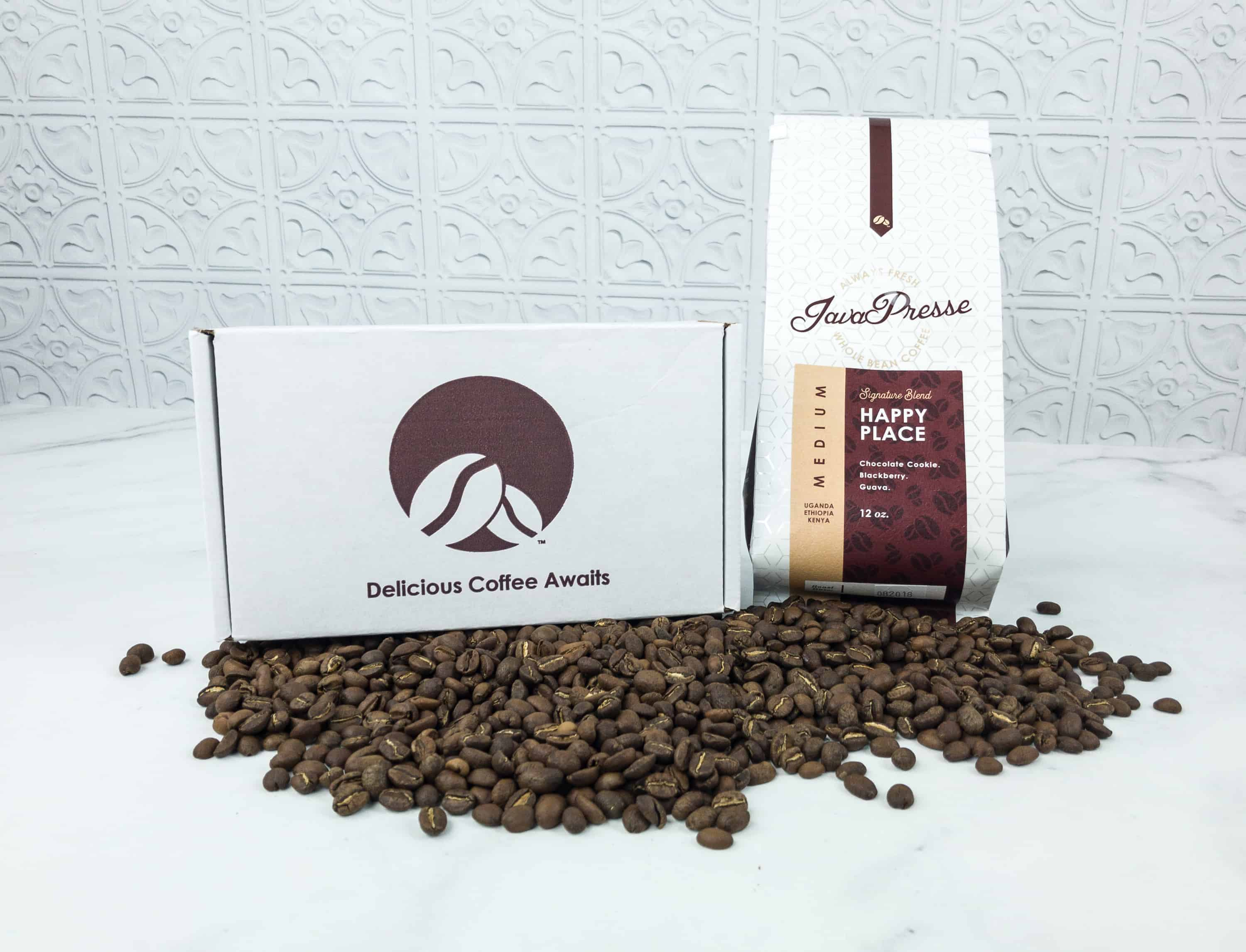 Java Presse Coffee Of The Month Club August 2018 Subscription Box Review + Coupon