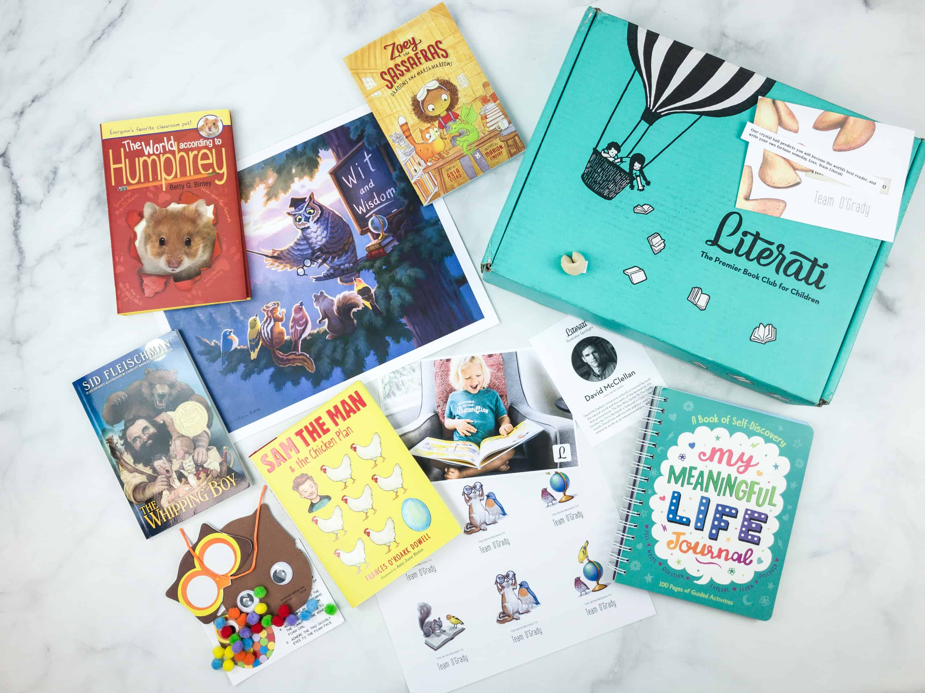 Literati Club Sage Box Review + Coupon – August 2018