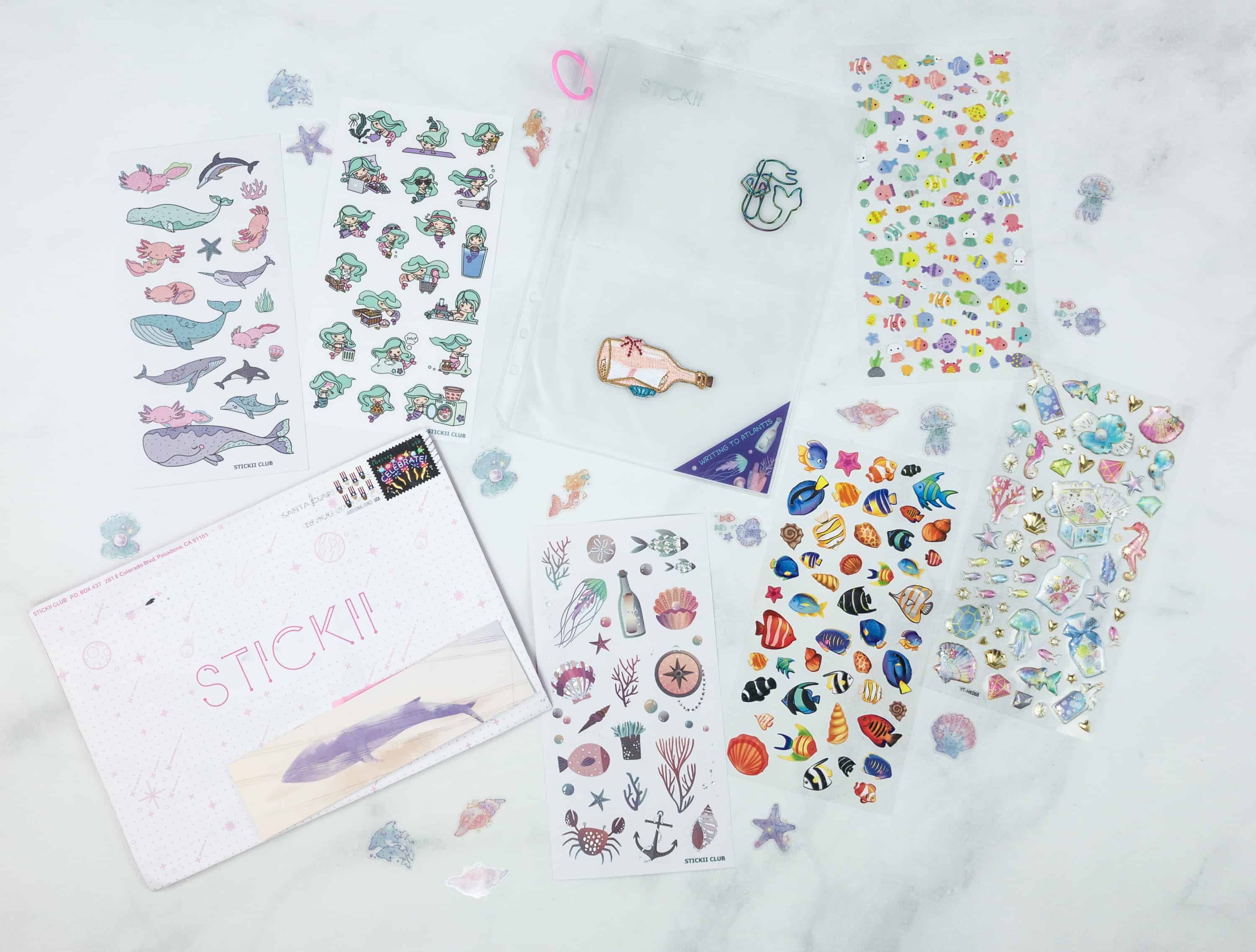 Stickii Club August 2018 Subscription Box Review & Coupon – Cute Pack!