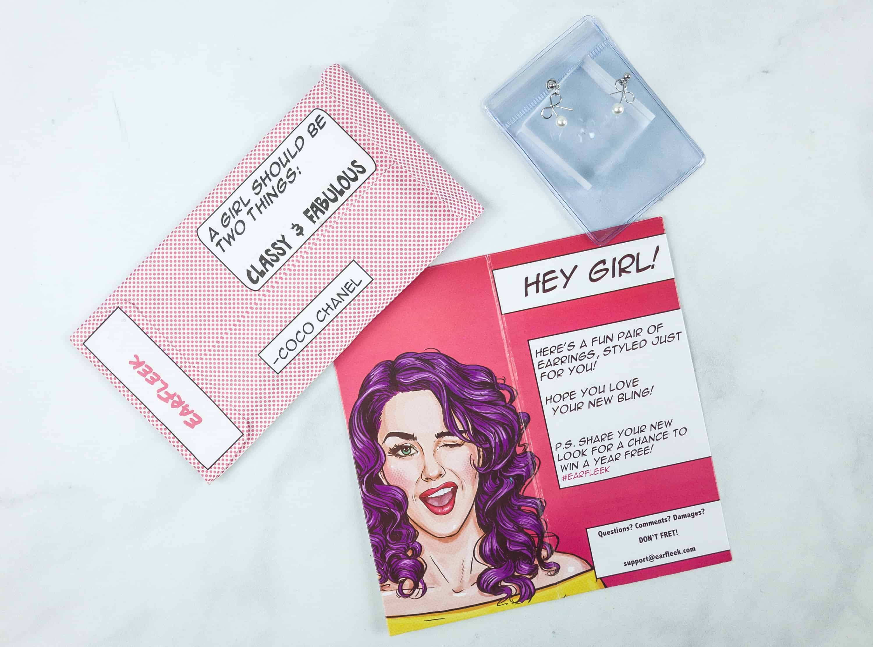 EarFleek Silly & Fun August 2018 Subscription Box Review + 50% Off Coupon