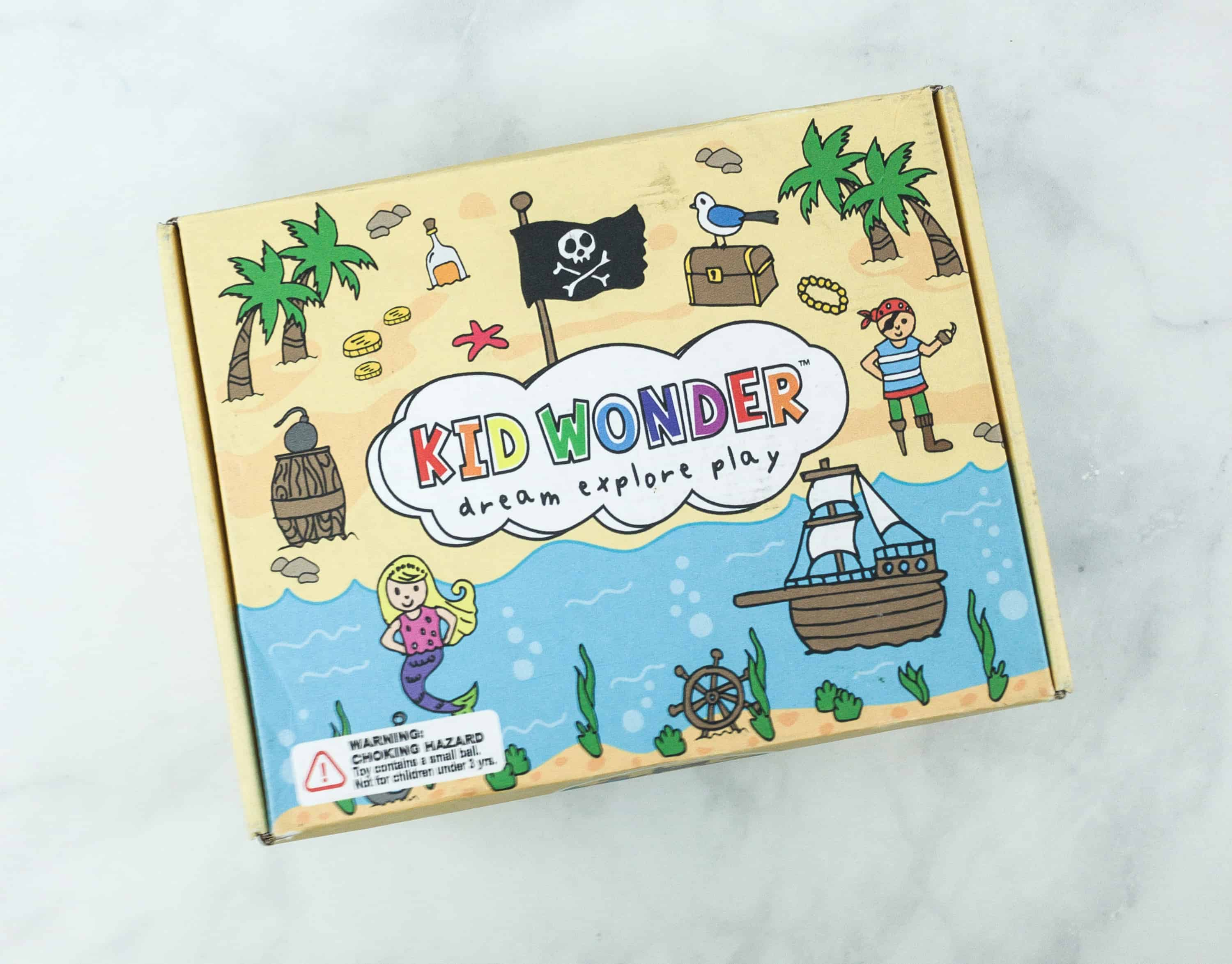 Kid Wonder Little Dreamers Box August 2018 Subscription Box Review & Coupon
