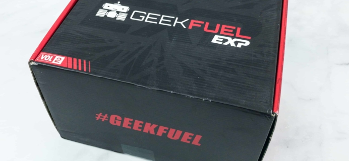 Geek Fuel EXP Summer 2018 Subscription Box Review – Volume 2