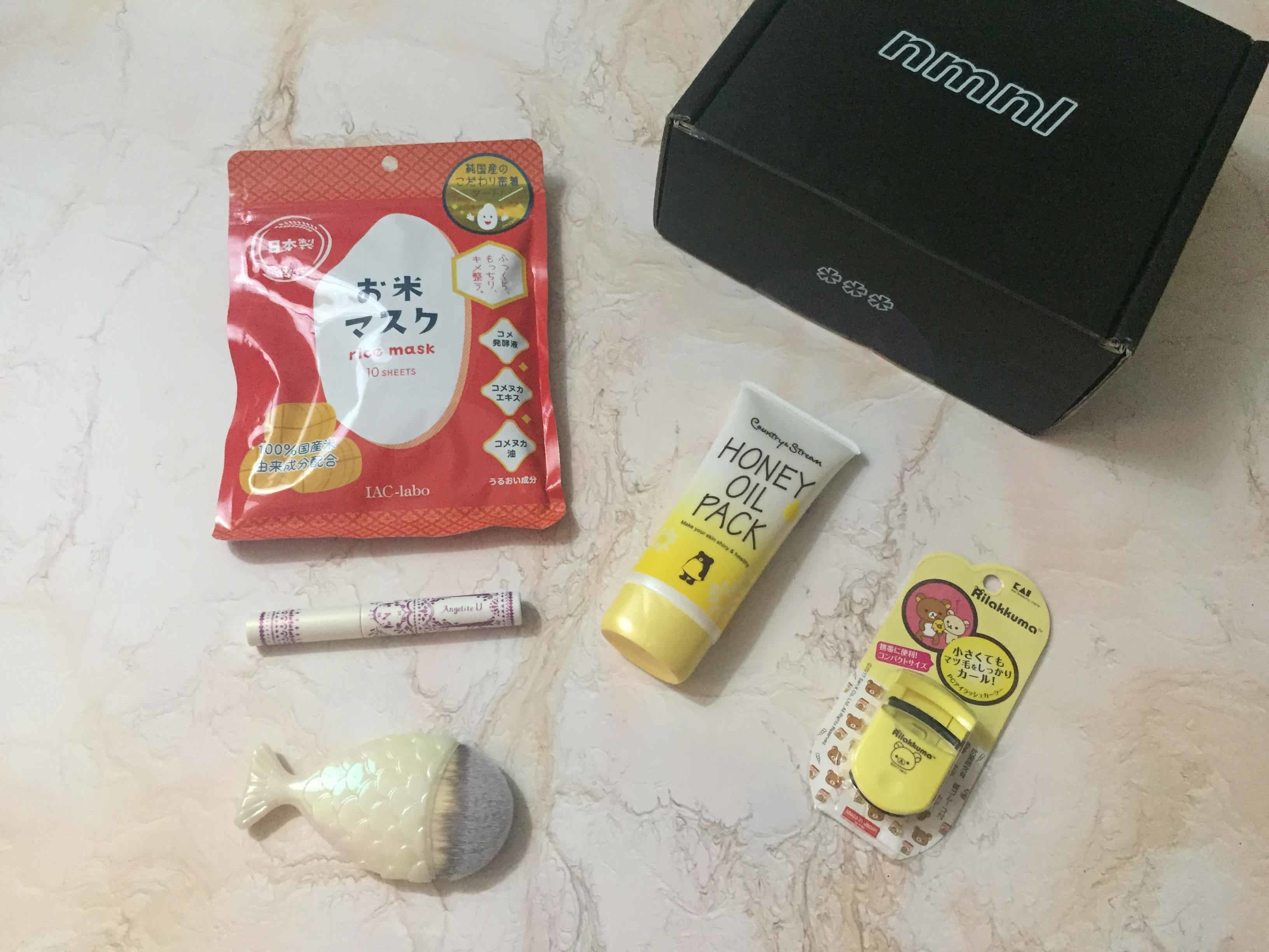 nmnl September 2018 Subscription Box Review + Coupon