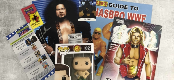Pro Wrestling Loot August 2018 Subscription Box Review + Coupon