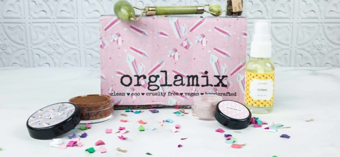 Orglamix August 2018 Subscription Box Review & Coupon