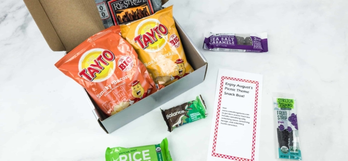 Something Snacks August 2018 Subscription Box Review