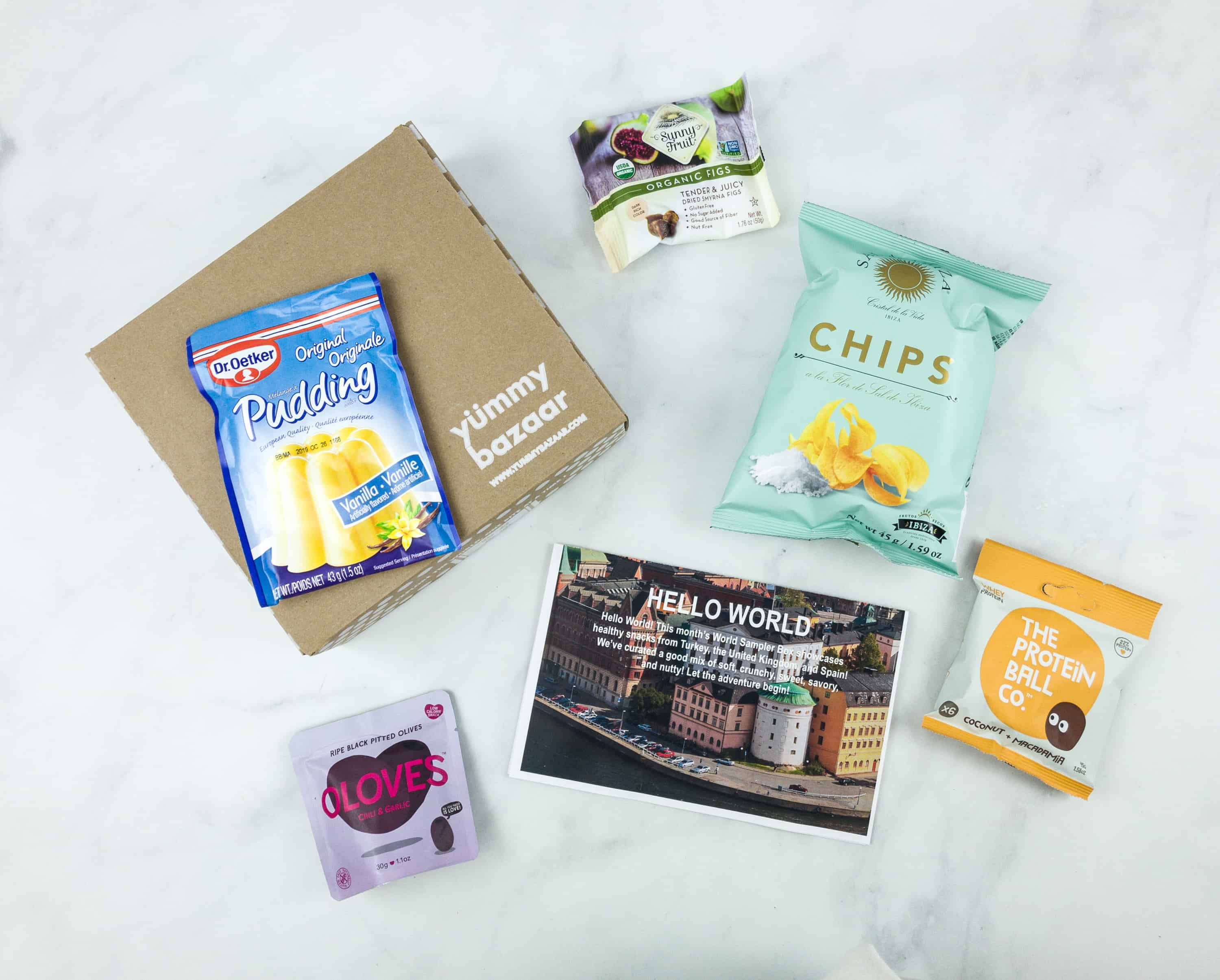 August 2018 Yummy Bazaar Subscription Box Review – Mini Box
