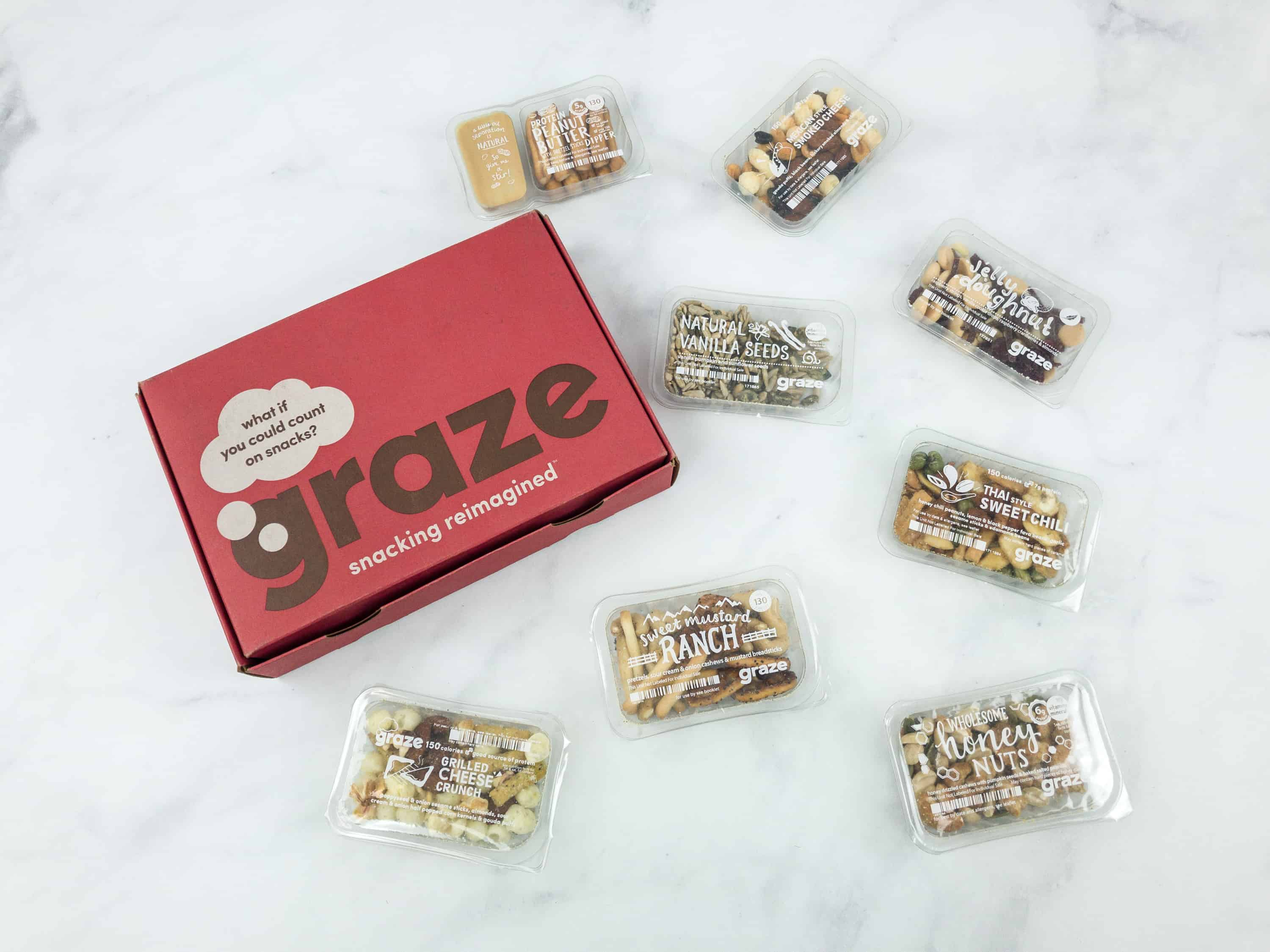 Graze Variety Box Review & Free Box Coupon – September 2018