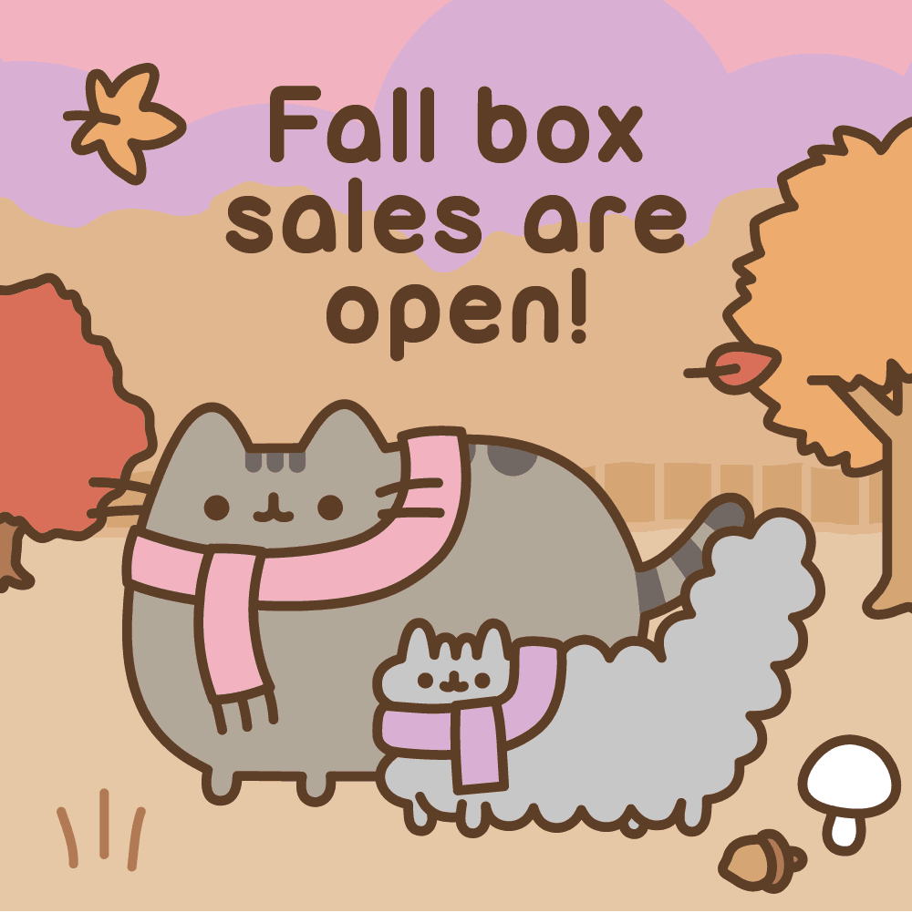Pusheen Box Fall 2018 Box Sales Open!