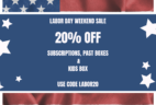 Cocotique Labor Day Sale – 20% off all Subscriptions!