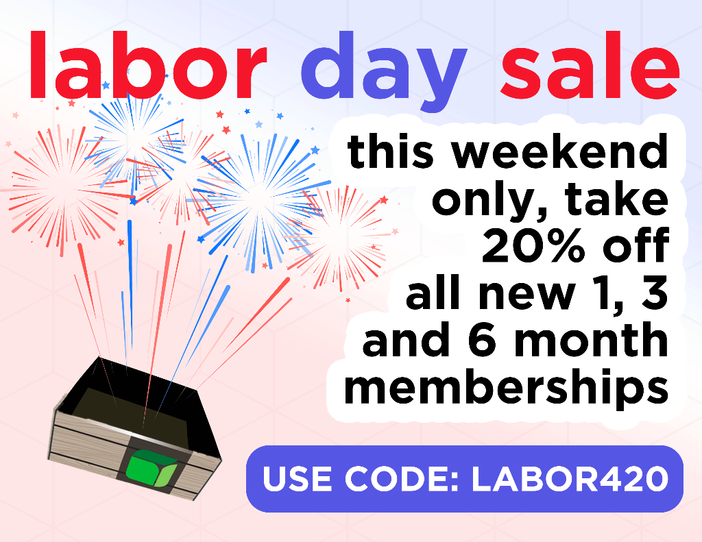 Cannabox Labor Day Sale: Get 20% Off All Subscriptions!