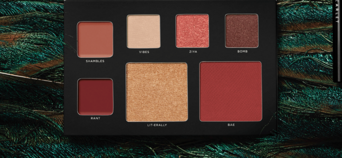 Deck of Scarlet September 2018 Palette Available Now – Full Spoilers!
