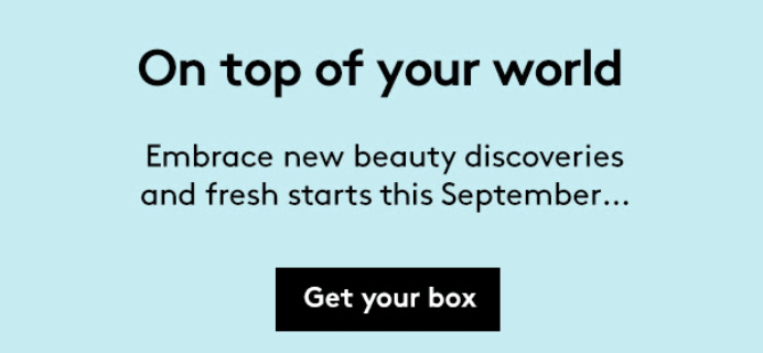 Birchbox UK September 2018 Spoiler #2 + Coupon!
