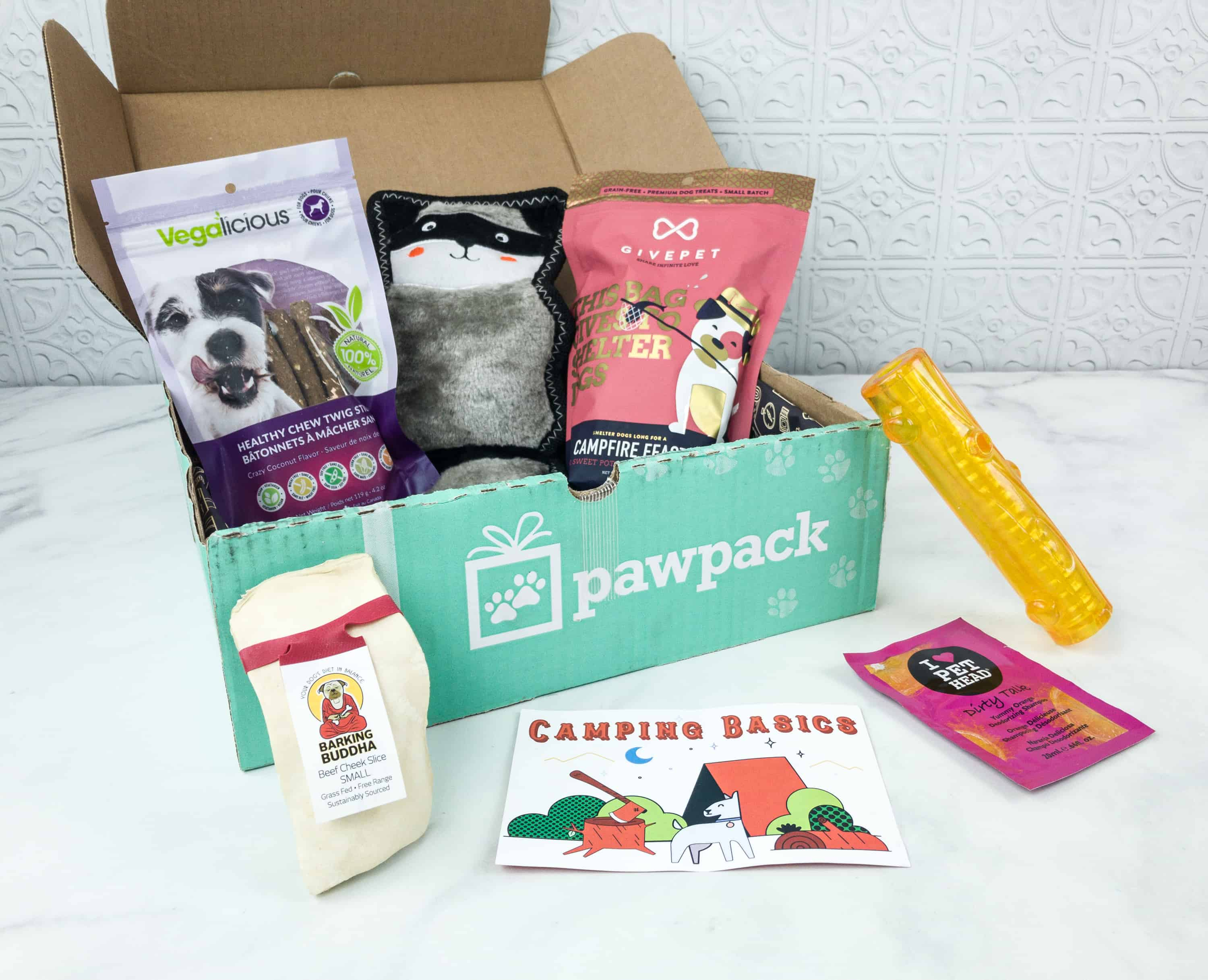 PawPack Dog Subscription Box Review + Coupon – August 2018