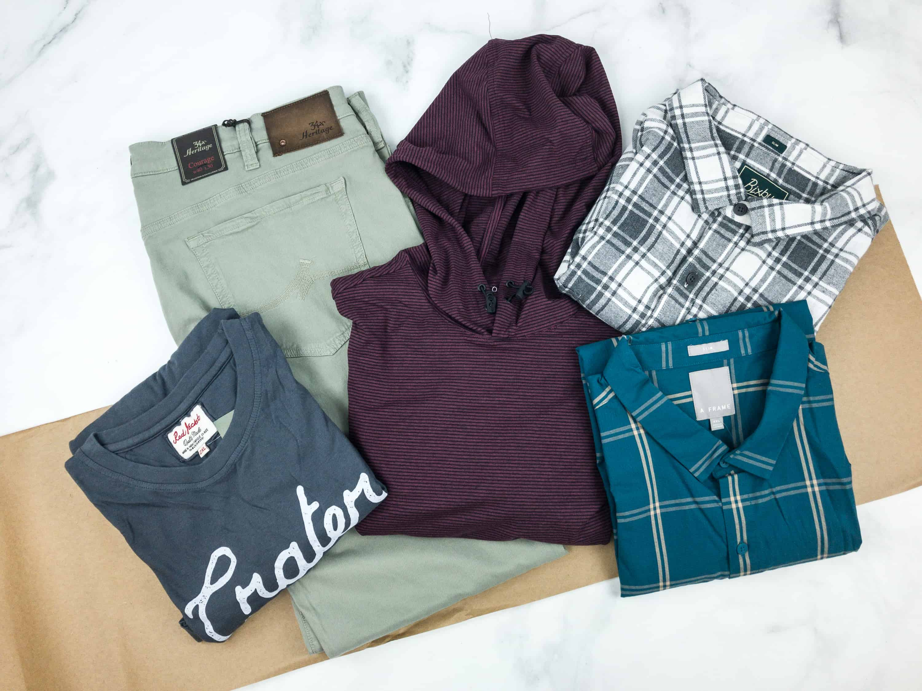 Stitch Fix Men September 2018 Review