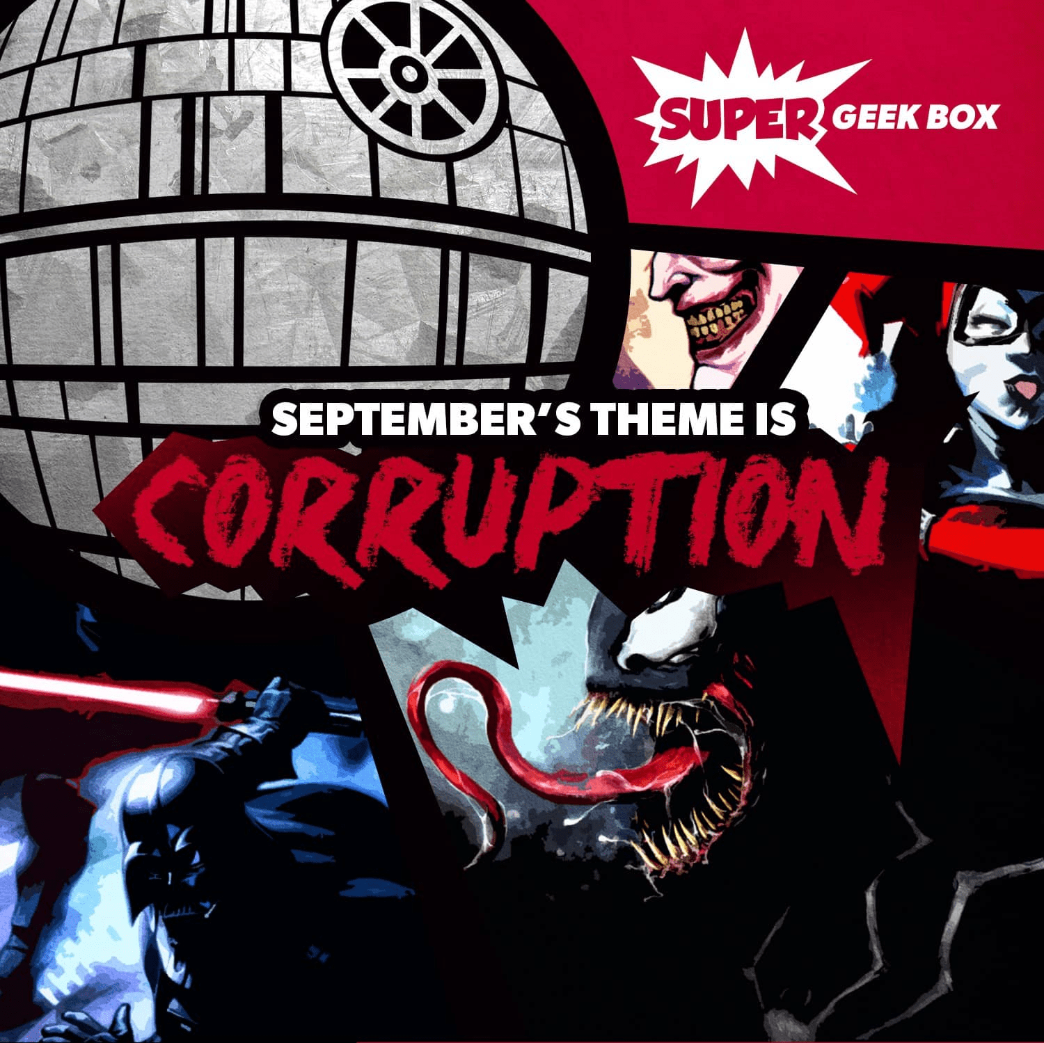 Super Geek Box September 2018 Spoilers & Coupon