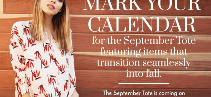 Golden Tote September 2018 First Look Spoilers!