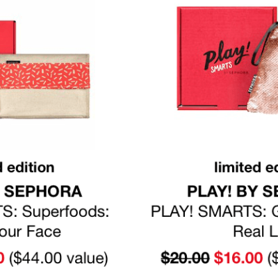 PLAY! by Sephora PLAY! SMARTS Sale : Get Each Box For Only $16!