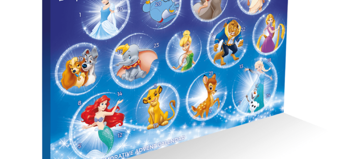 2018 Disney Collectable Coin Advent Calendar Spoilers!