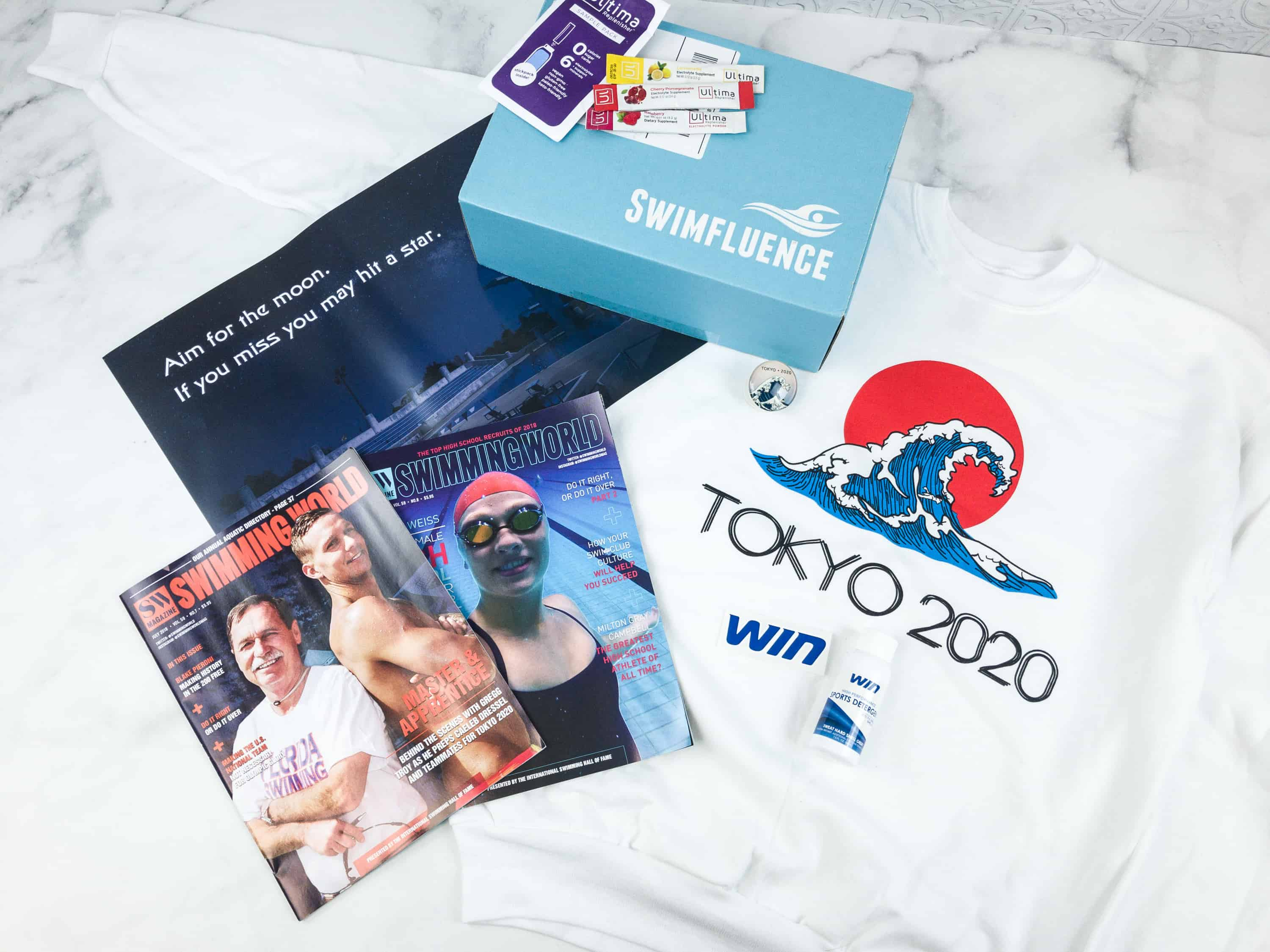 Swimfluence August 2018 Subscription Box Review