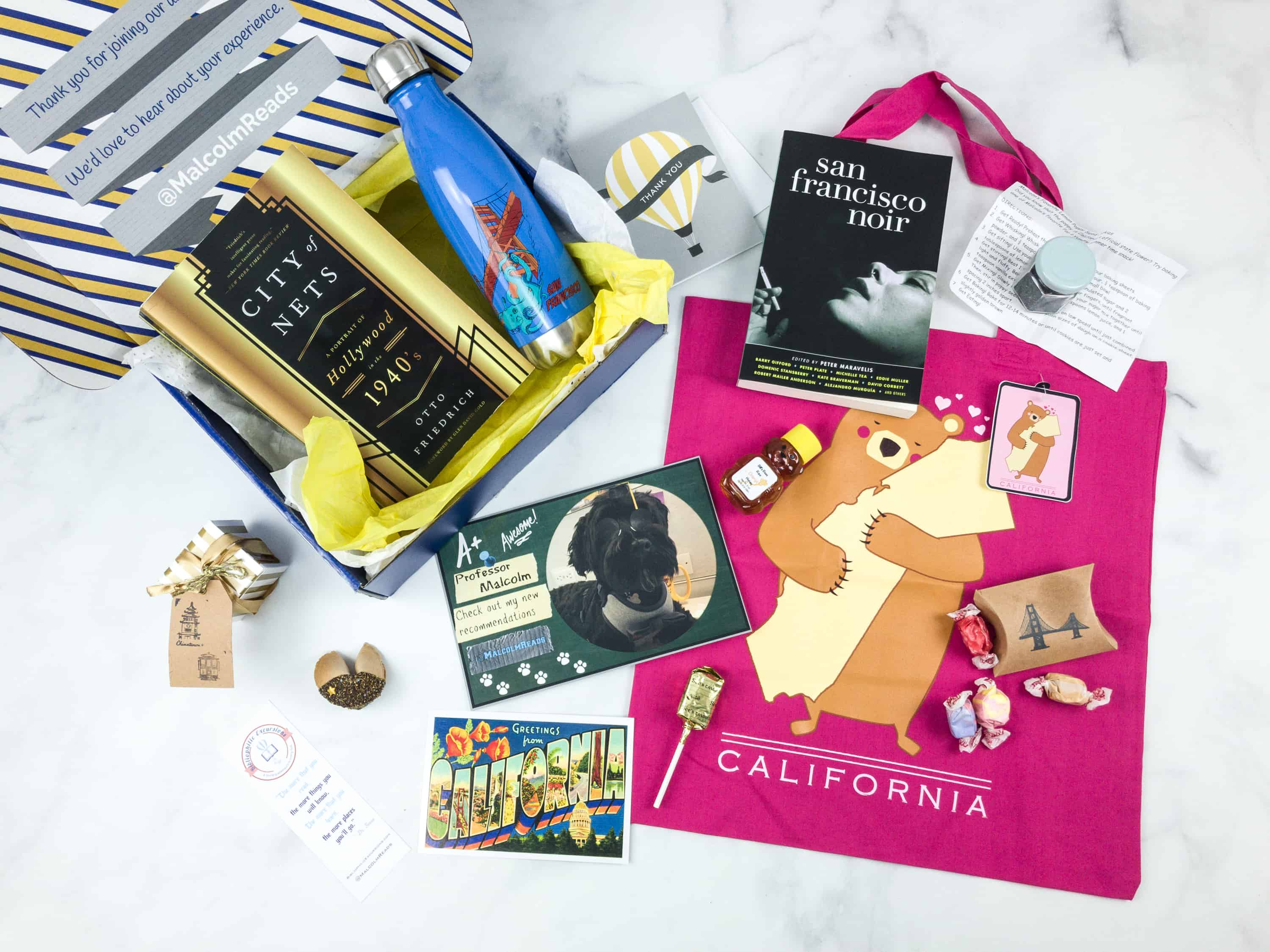 Bibliophilic Excursions Signature Journey July 2018 Subscription Box Review