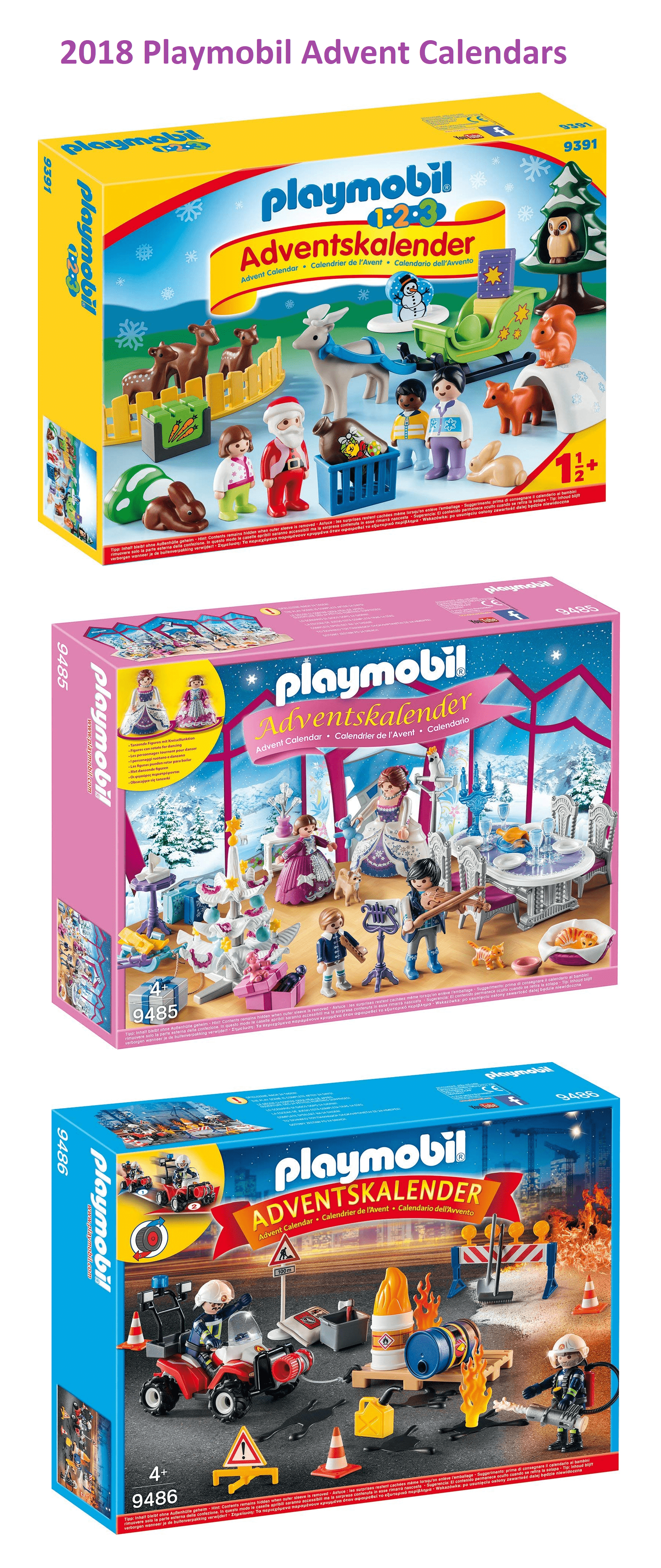 Playmobil 2018 Advent Calendars Coming Soon!