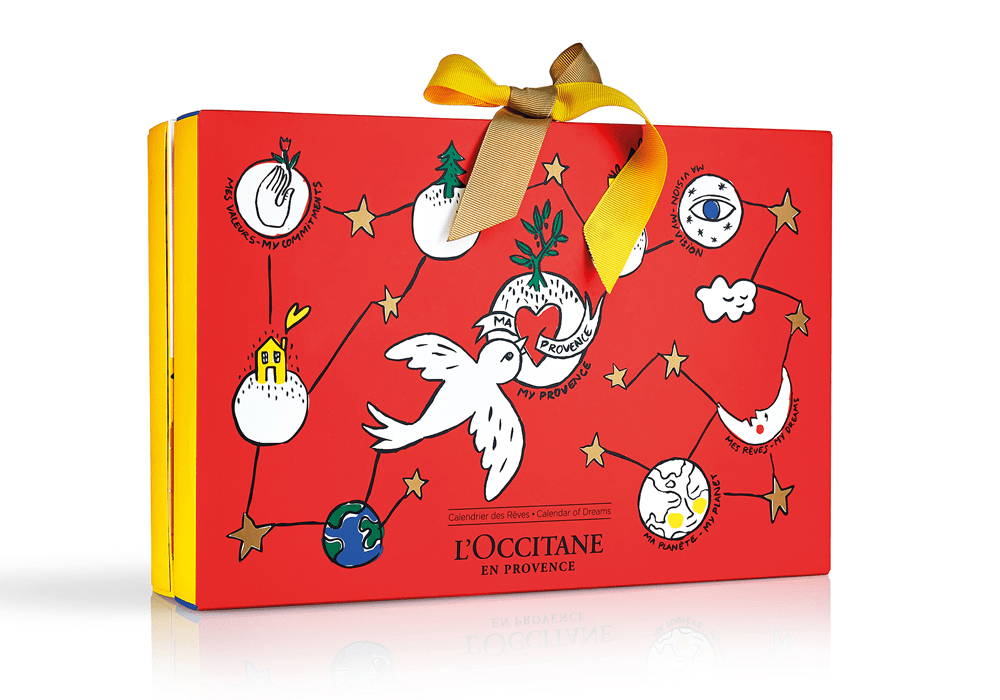 Image result for loccitane advent calendar 2018