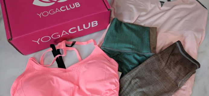 YogaClub Subscription Box Review + Coupon – August 2018