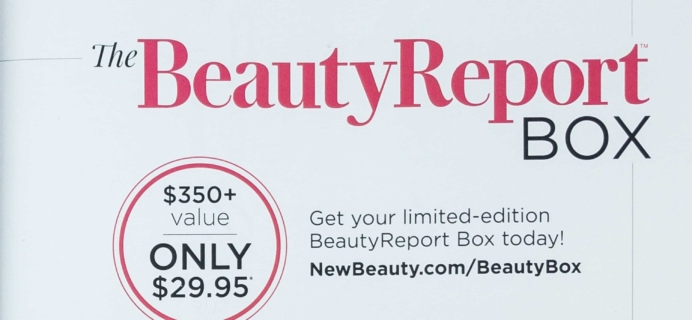 New Beauty Fall 2018 Beauty Report Box Available Now!