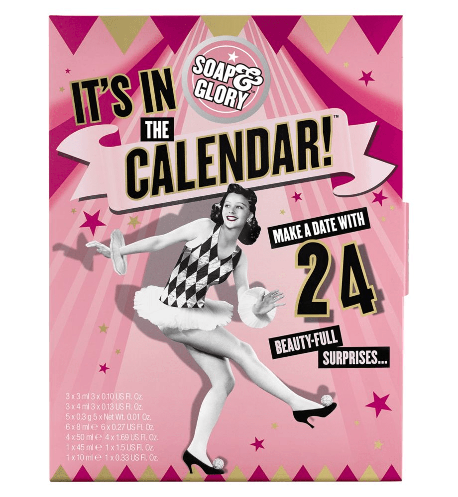 Soap & Glory Beauty Advent Calendar 2018 Available Now + Full Spoilers! {UK}