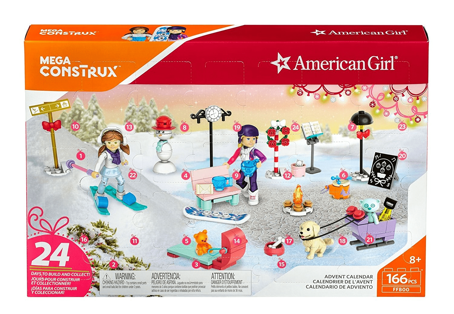 American Girl Advent Calendar $15.99 at Walmart!