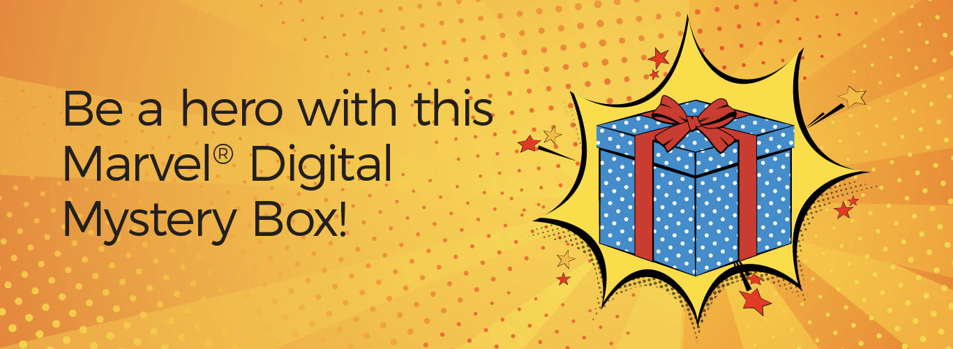 Cricut September 2018 MARVEL Digital Mystery Box Available Now!