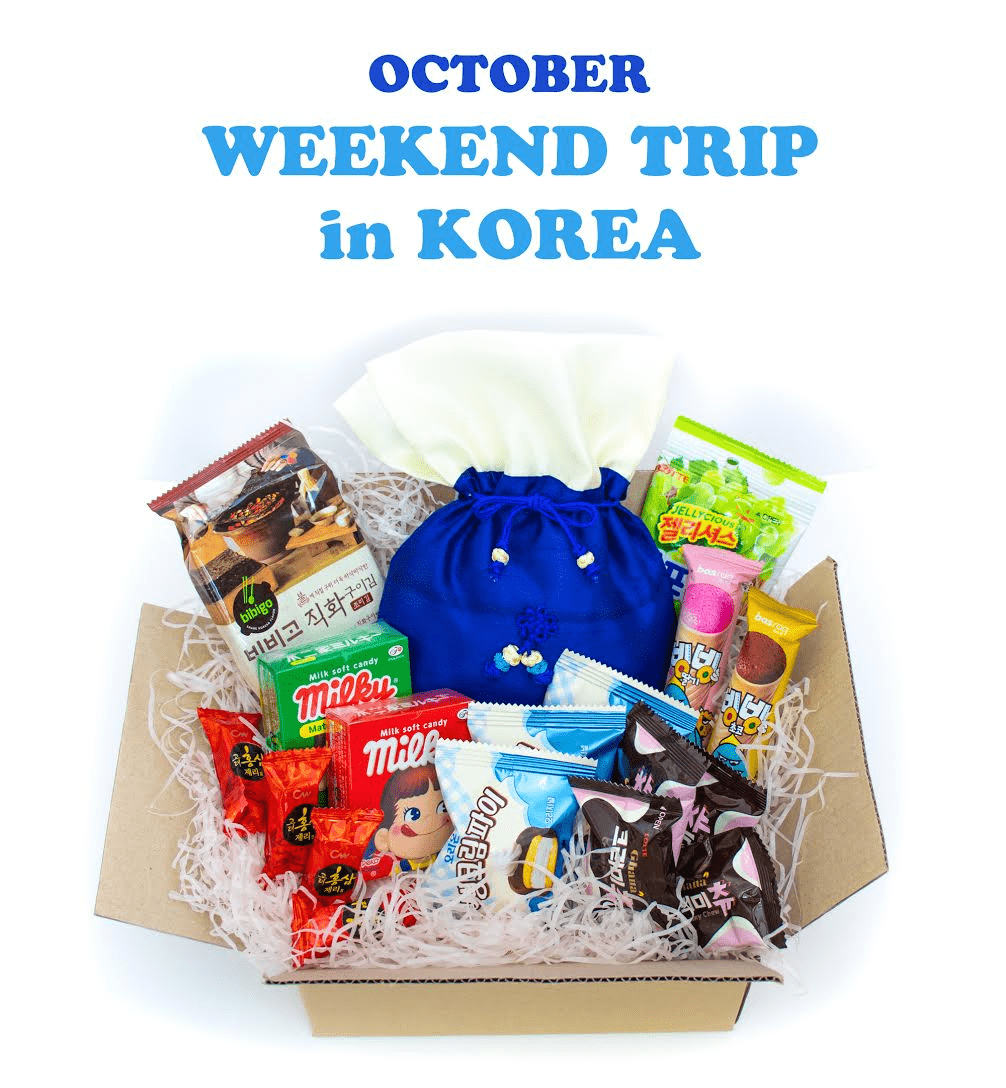 Korean Snack Box October 2018 FULL Spoilers + Coupon!