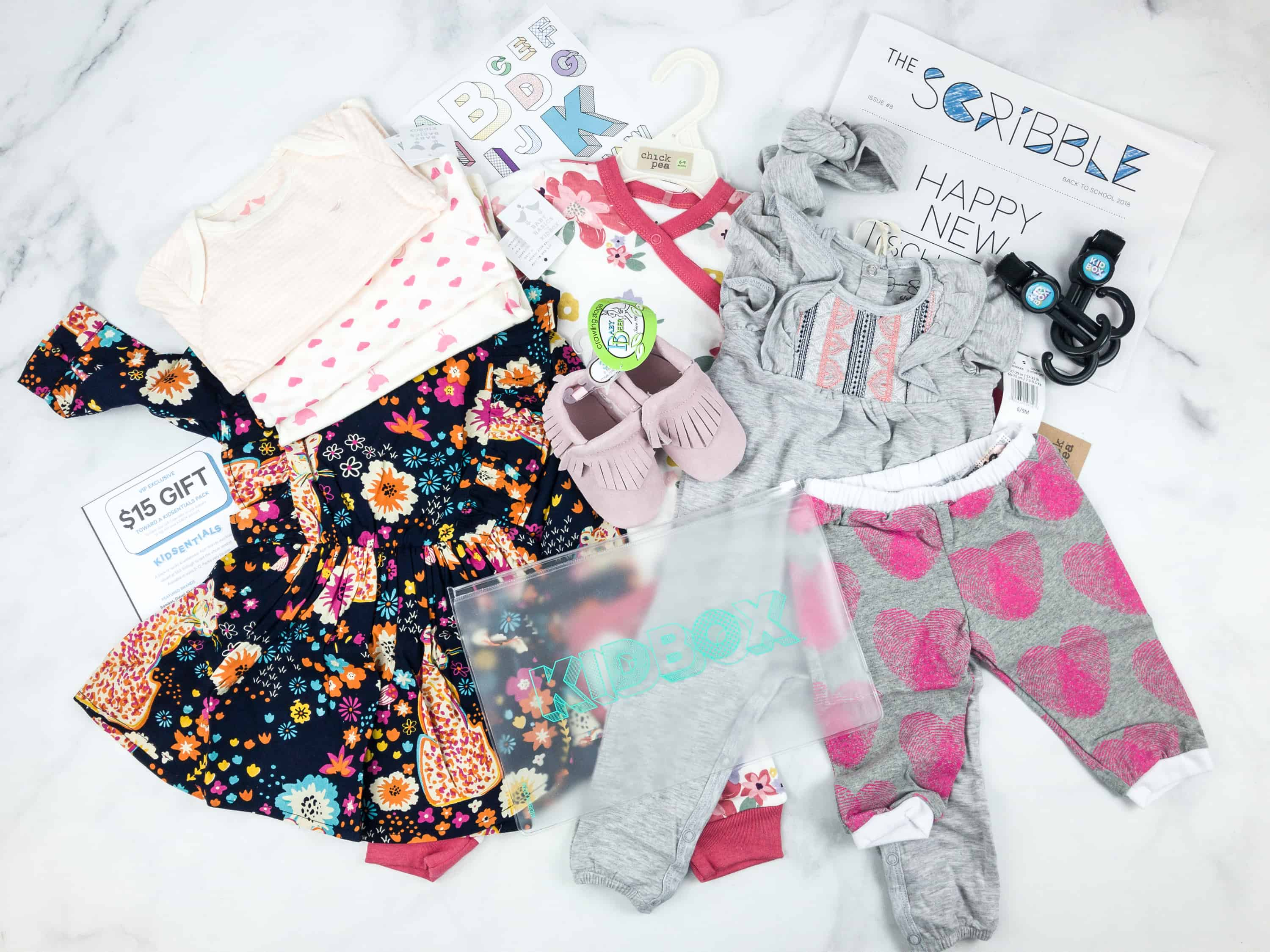 Kidbox BABY Fall 2018 Subscription Box Review + Coupon – Girls