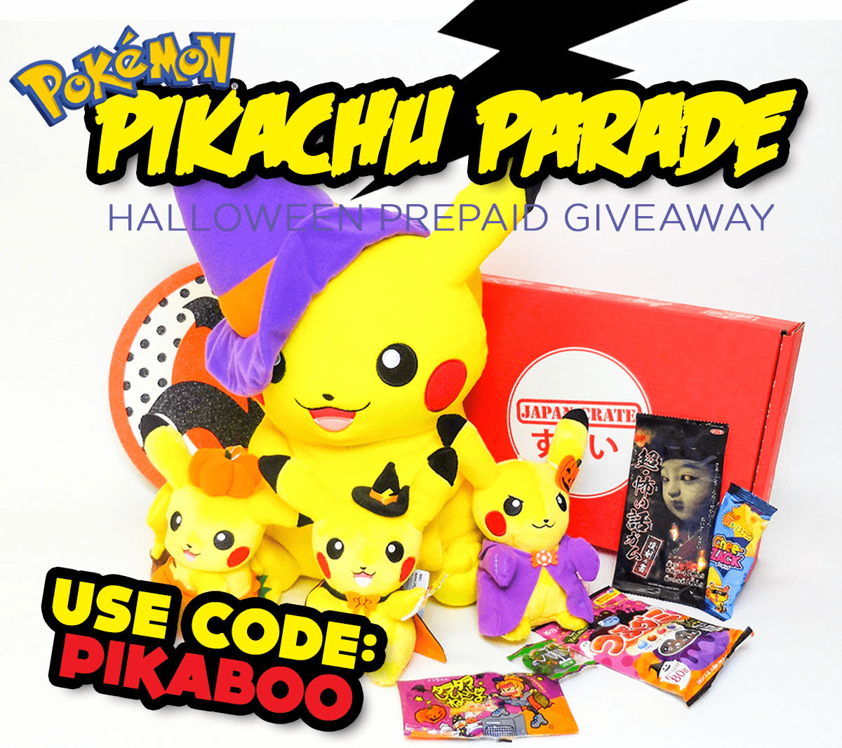 Japan Crate Coupon: Get Bonus Pikachu Plushie With Your First Box!