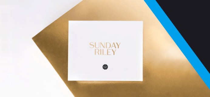 New GLOSSYBOX UK Sunday Riley Limited Edition Box Coming Soon + Full Spoilers!