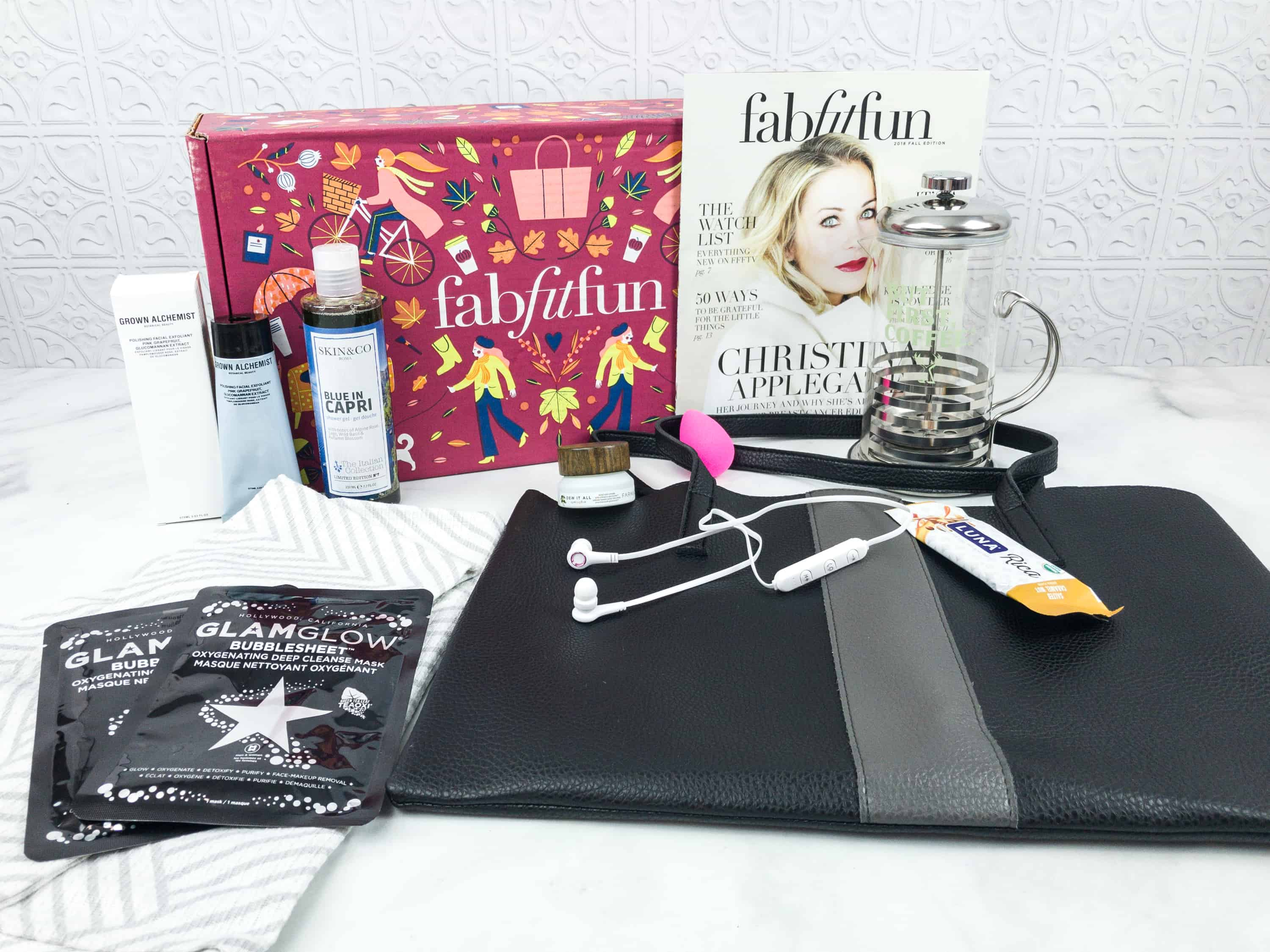 FabFitFun Fall 2018 Box Review + $10 Coupon