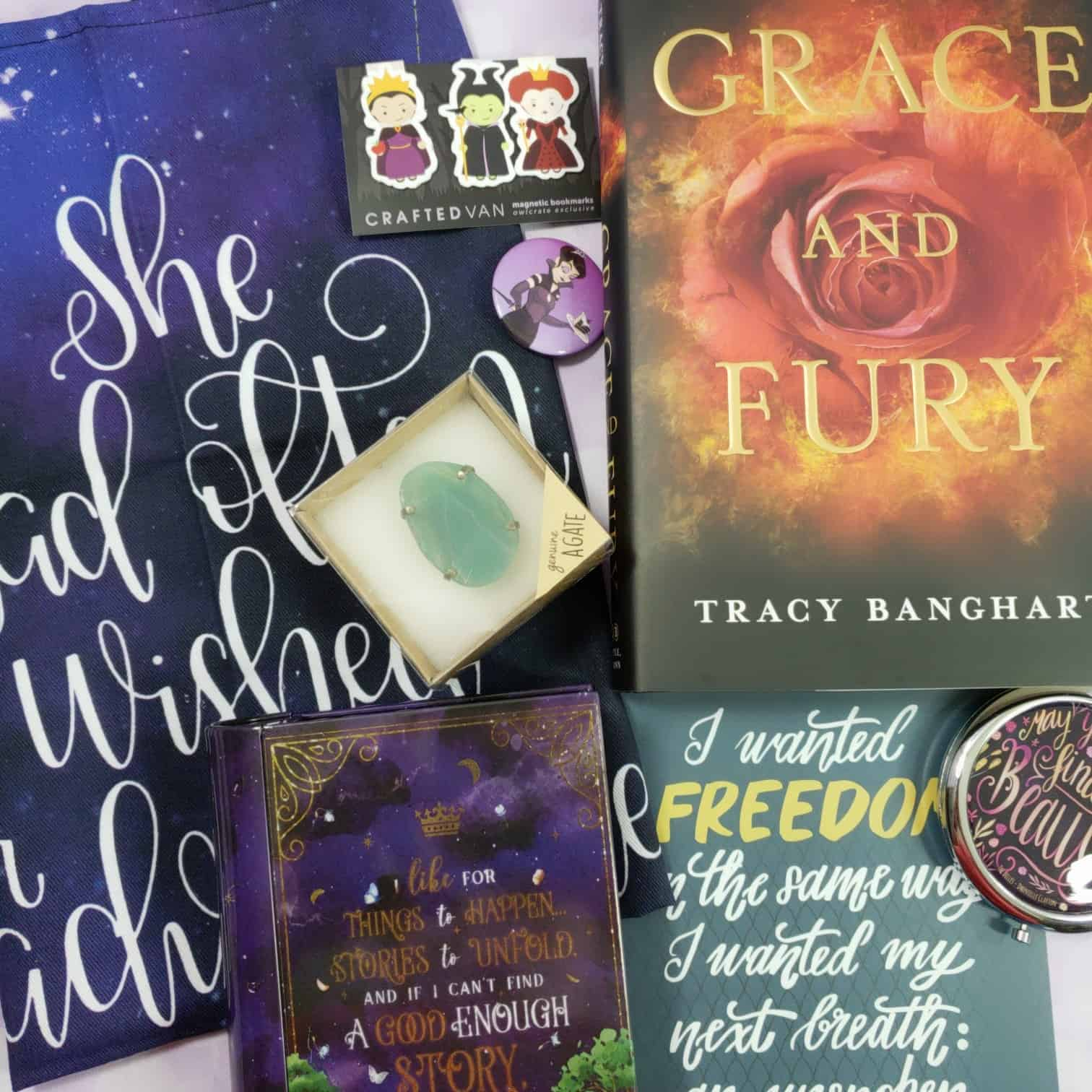 OwlCrate August 2018 Subscription Box Review + Coupon