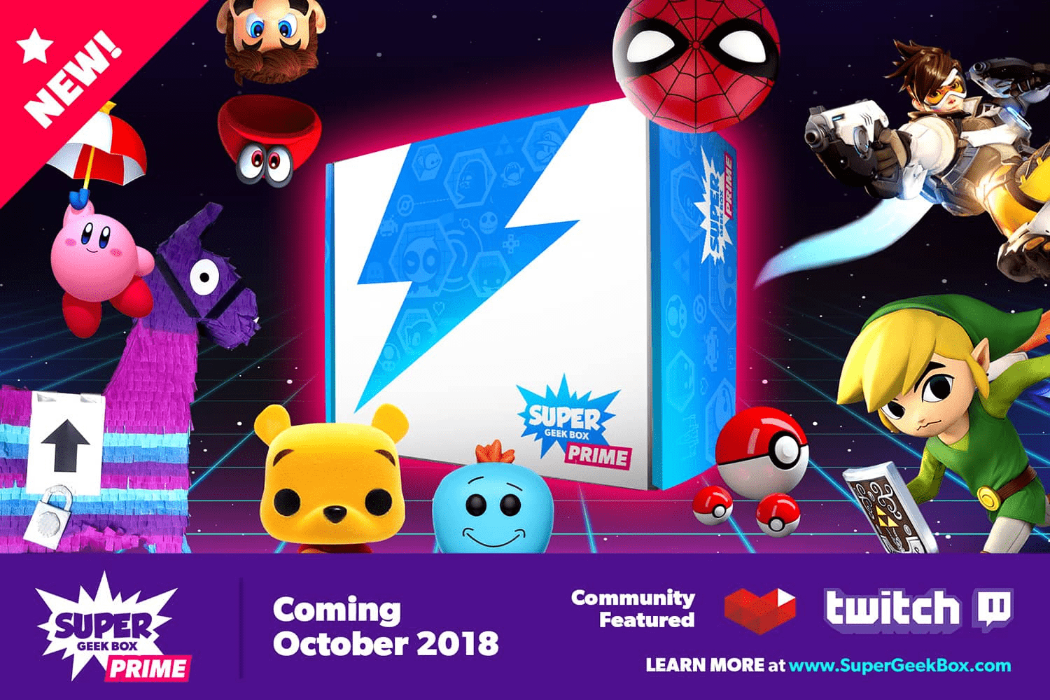 Super Geek Box PRIME October 2018 Spoilers + Coupon!