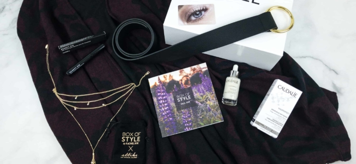 Box of Style by Rachel Zoe Fall 2018 Review + Coupon