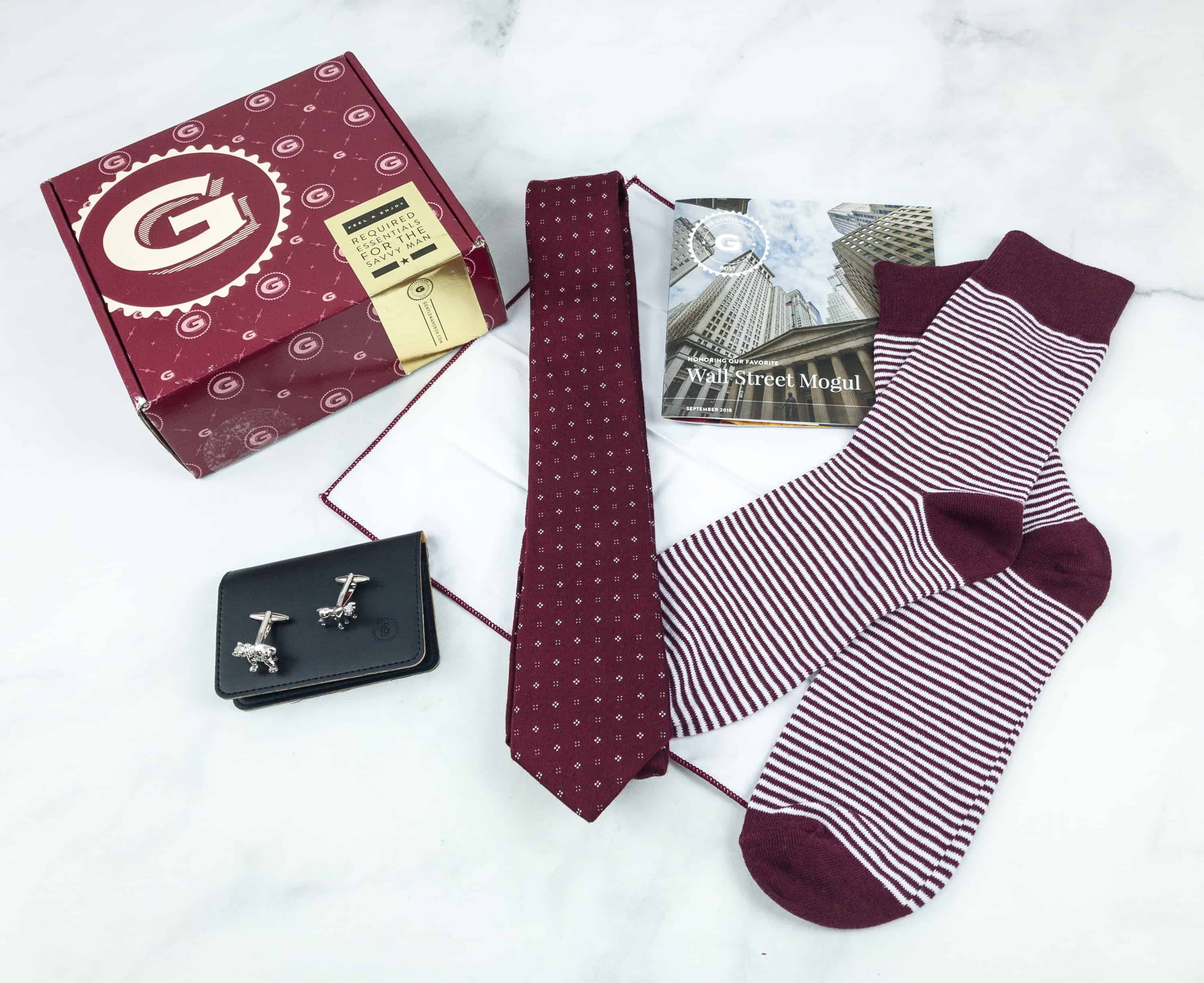 The Gentleman's Box September 2018 Review & Coupon
