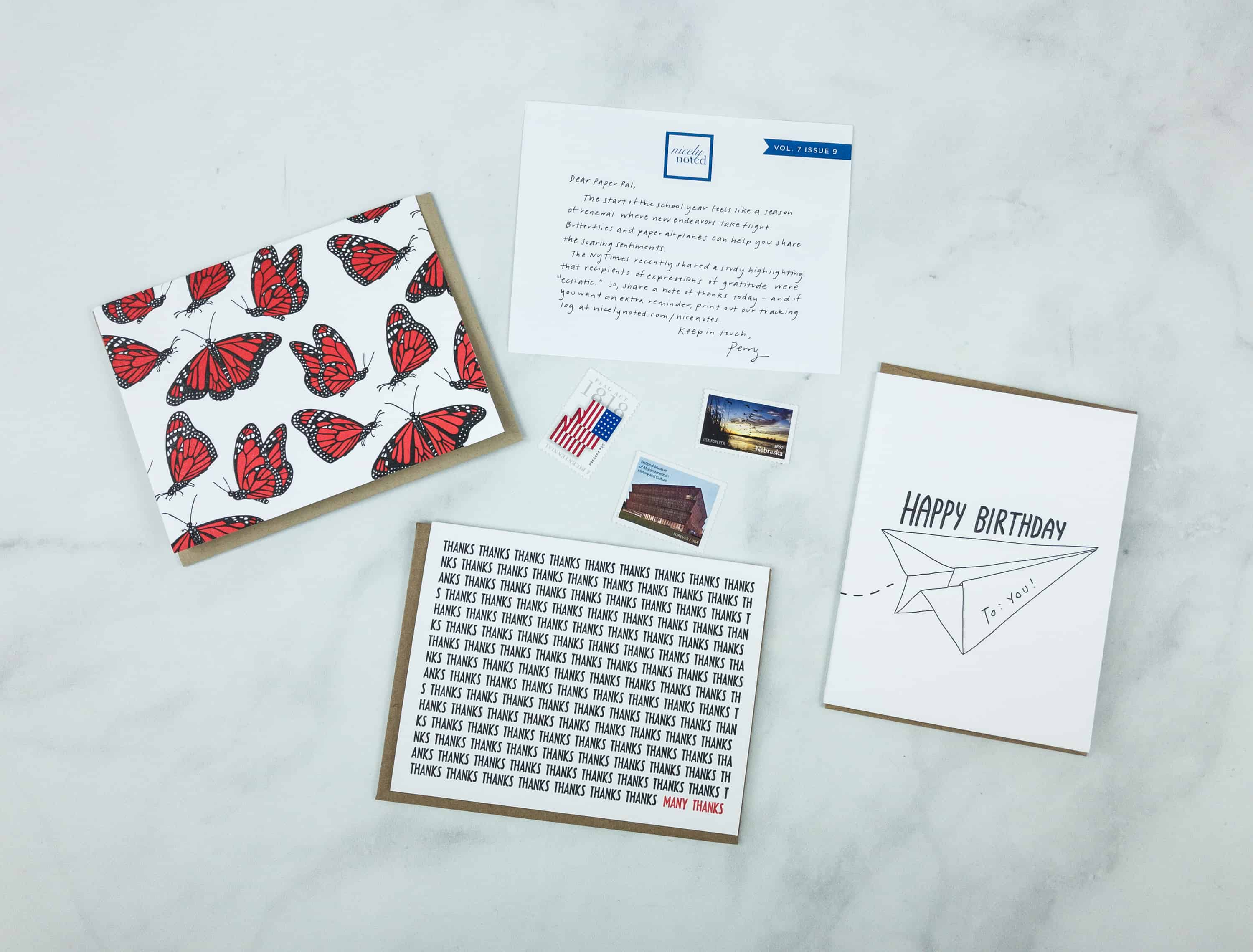 Nicely Noted September 2018 Subscription Box Review + Coupon!