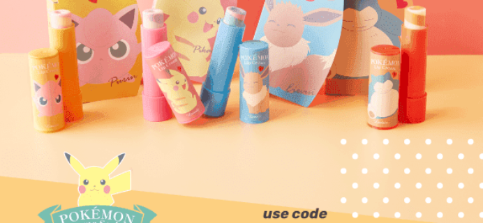nomakenolife (nmnl) Coupon: Get Free Pokemon Lip Balm With Your First Box!