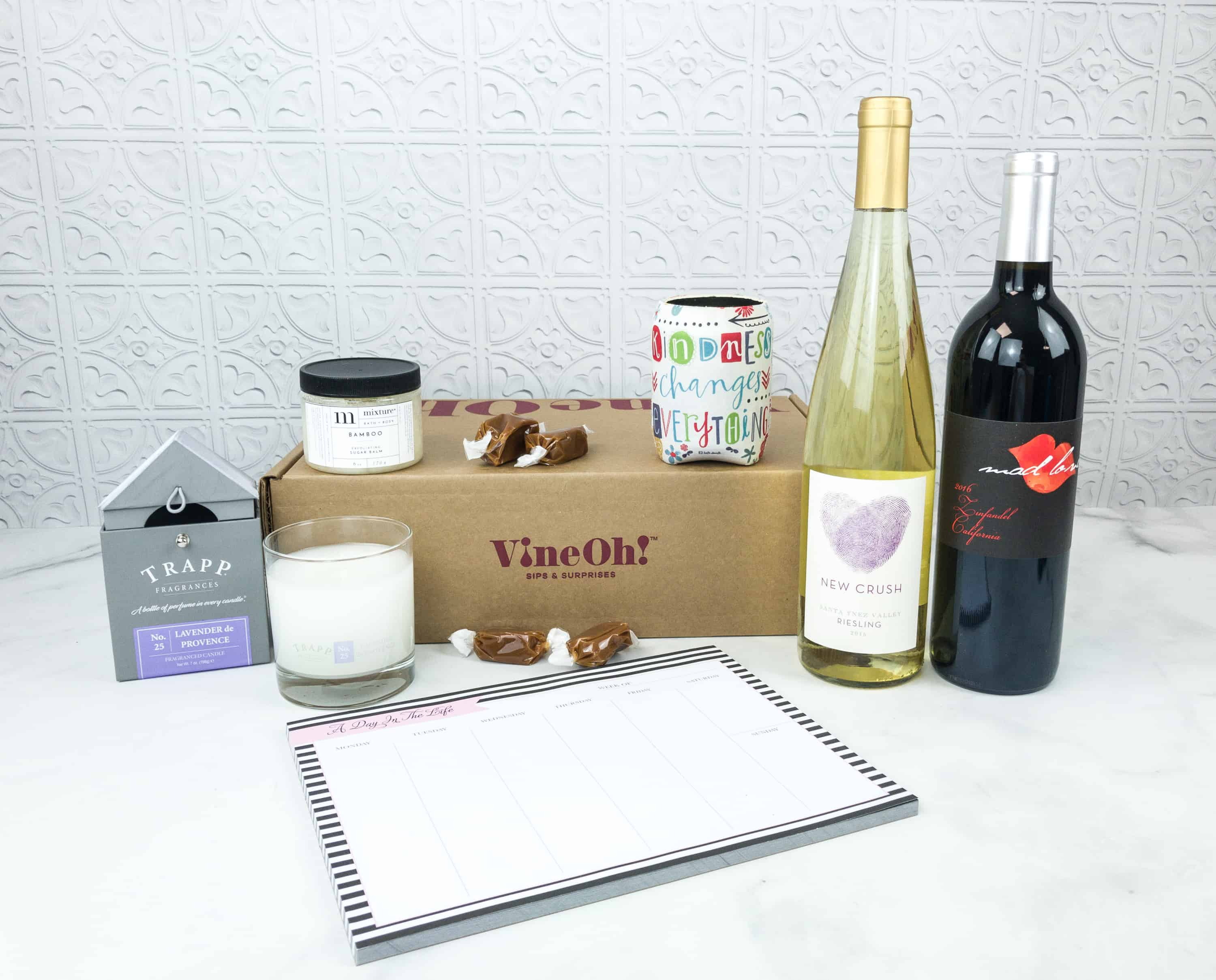 Vine Oh! Fall 2018 Subscription Box Review + Coupon